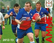 Local Rugby Match Programme